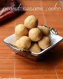 Peanut sesame jaggery ladoo recipe