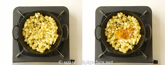 Potato fry step 4