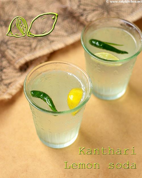 Salted lemon soda