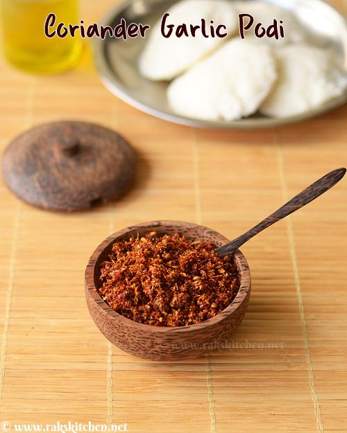 coriander-garlic-podi