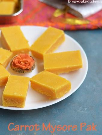 carrot-mysore-pak