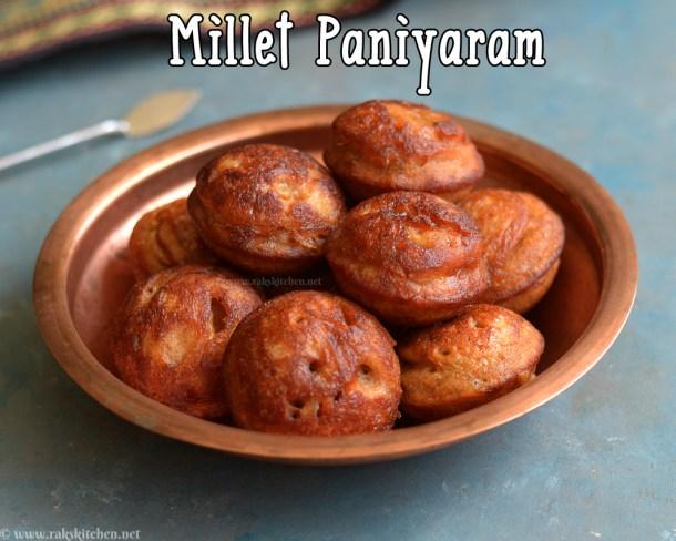 millet-paniyaram-sweet