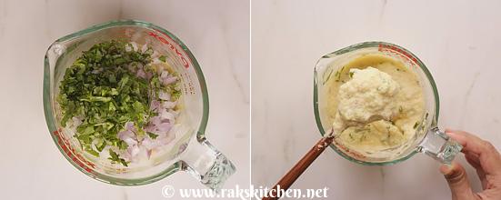 Receita de Moonglet, estilo de comida de rua de Moong dal chilla 7