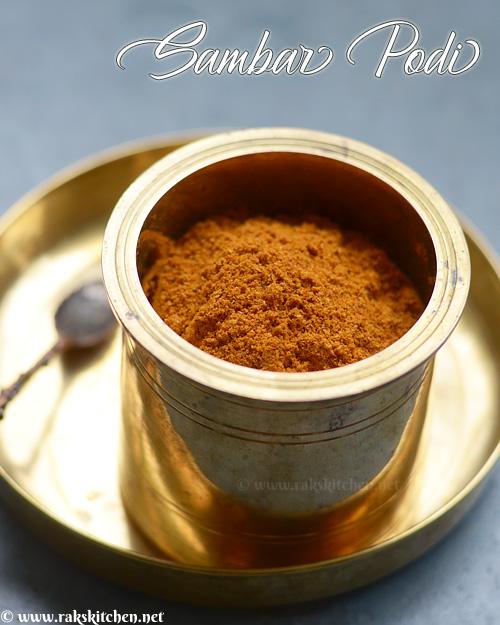 homemade-sambar-podi