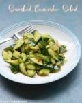 salada de pepino esmagado