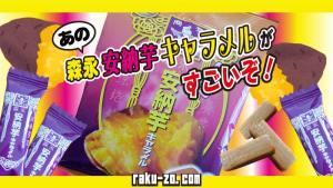 あの森永安納芋キャラメルがすごいぞ!のタイトル画像