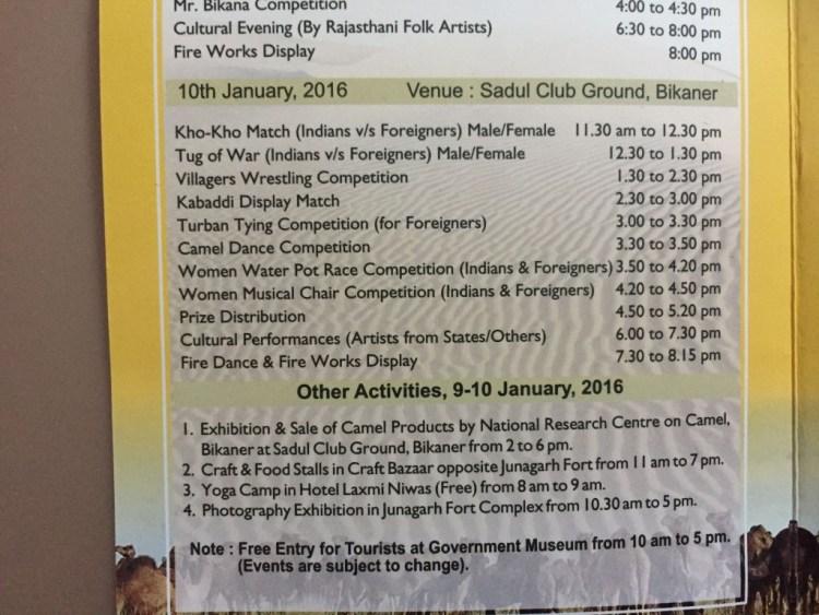 bikaner festival2016