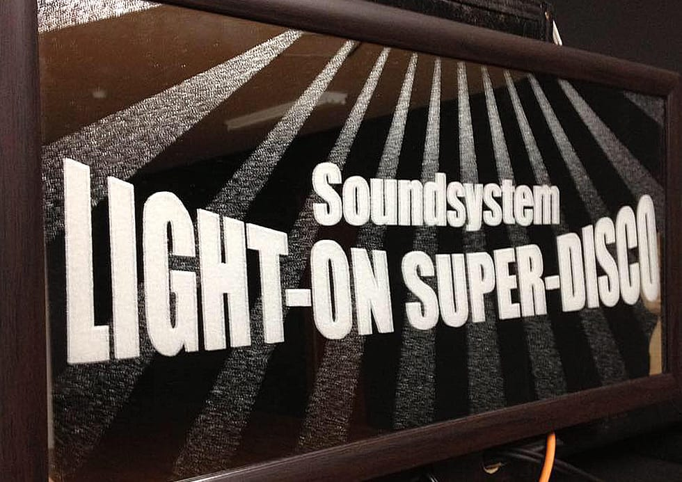 LIGHT-ON SUPER-DISCO