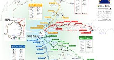 富士山_登山路線