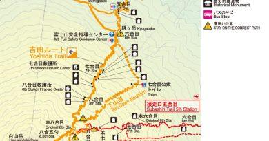 富士山_吉田線路線