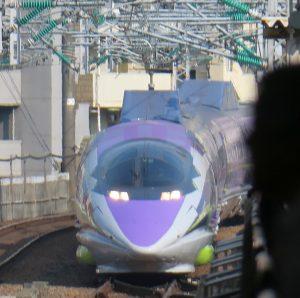500 Type Eva 広島駅入線