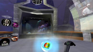 Screenshot of RIT's VR world