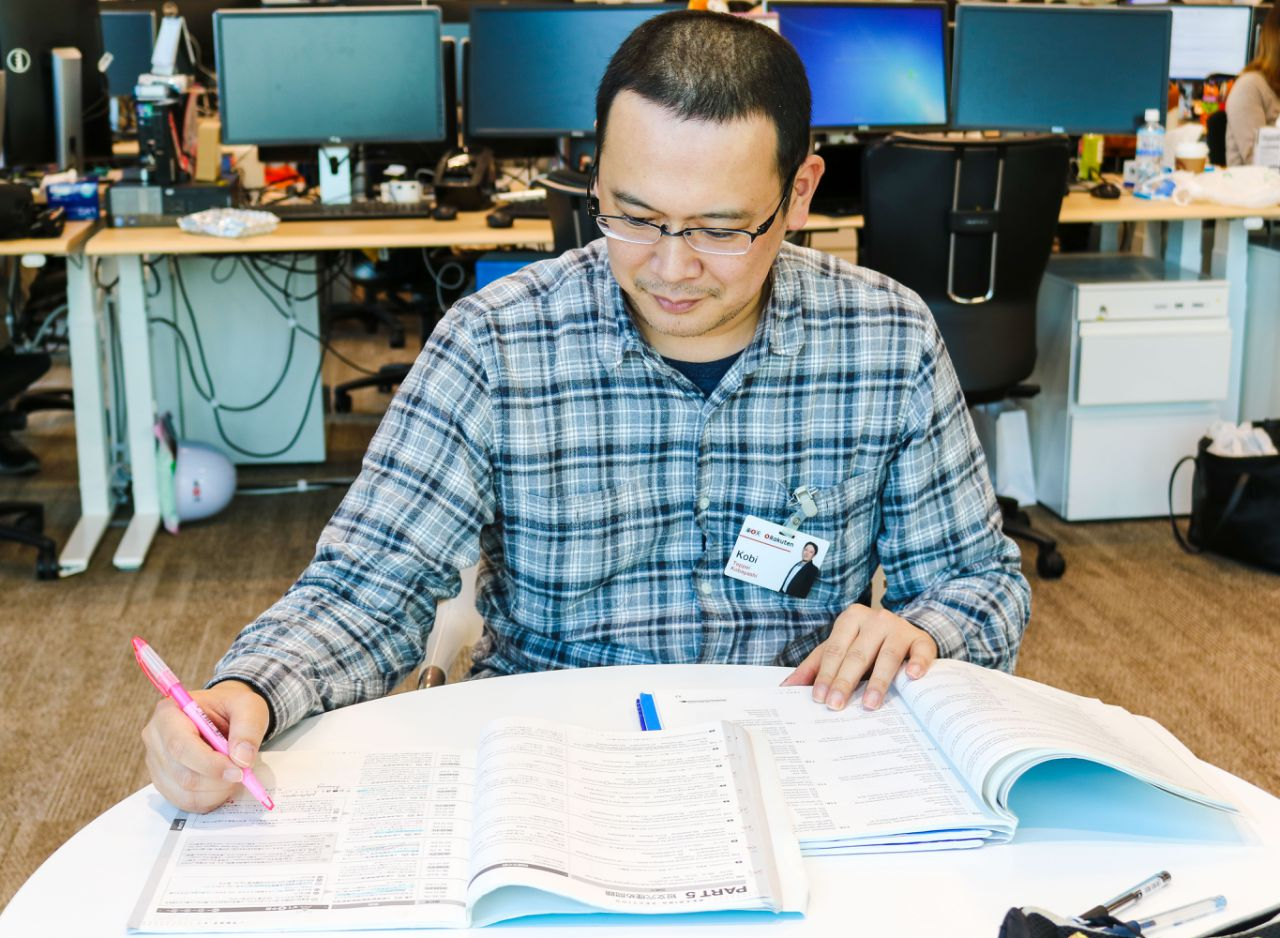 Englishnization has changed the way Rakutenians work