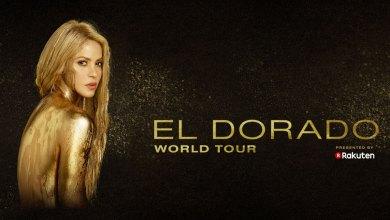 Shakira's upcoming El Dorado world tour, presented by Rakuten, kicks off November 8 in Cologne, Germany.