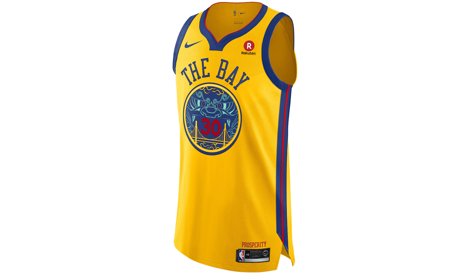 Golden State Warriors celebrate Chinese community with new uniforms