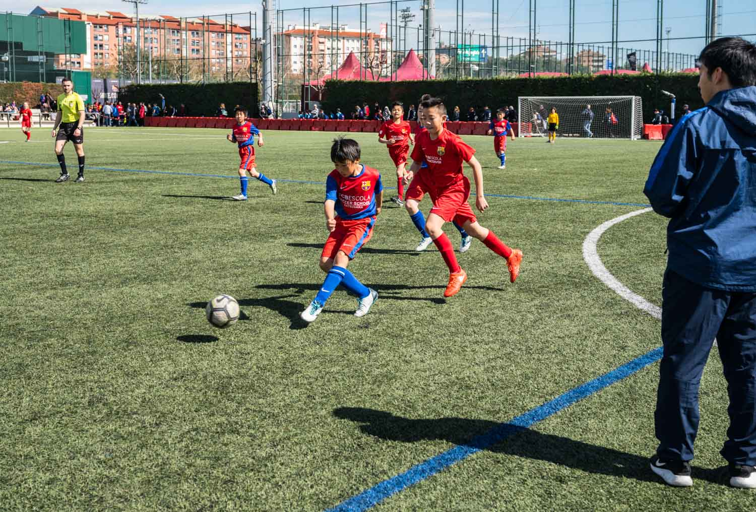 FCBEscola International Tournament Presented by Rakuten welcomed nearly 2000 youth footballers from 6 continents for the organization's biggest event yet.