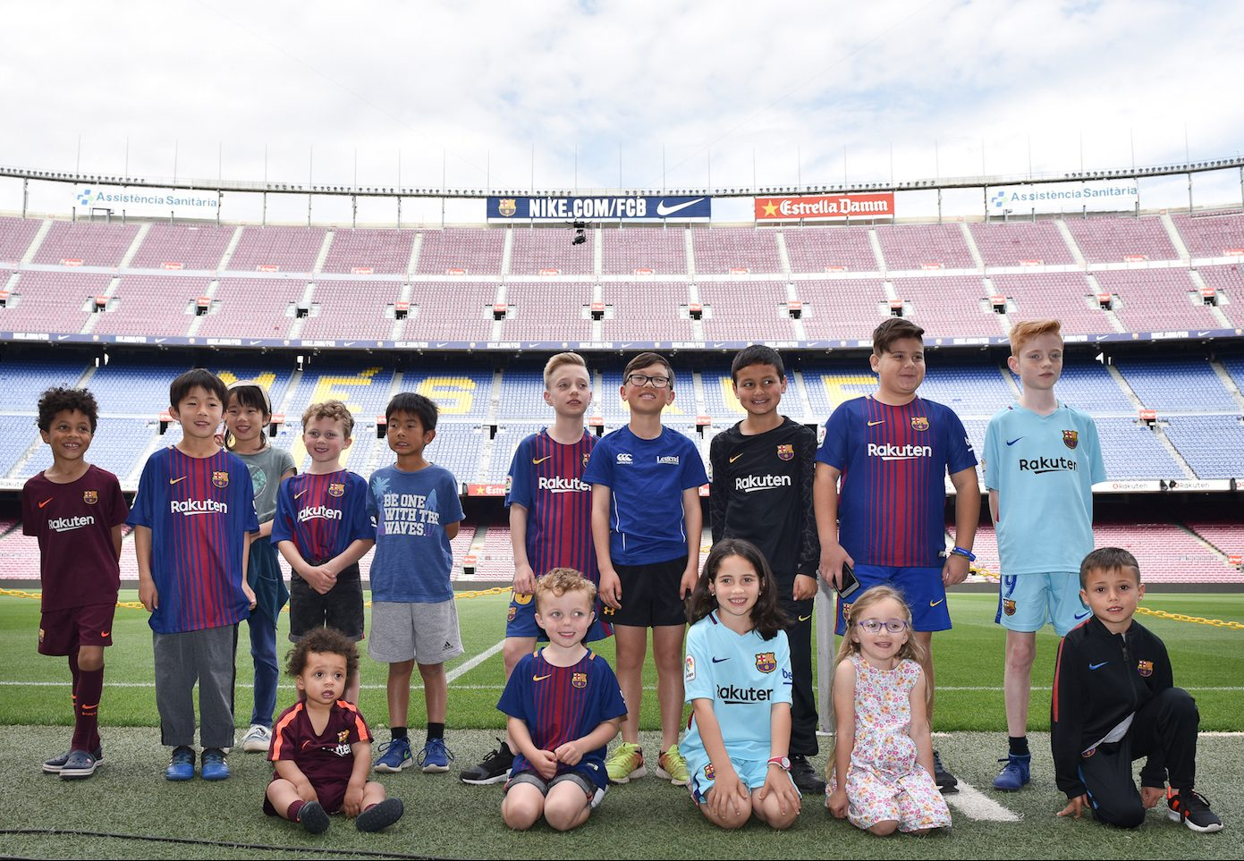 """Rakuten welcomed 11 """"Young Ambassadors"""" from around the world to Barcelona to promote SDGs & cheer on their favorite footballers. Here were the highlights:"""