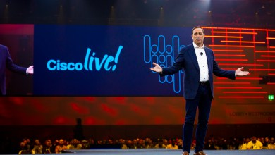 For small business owners dreaming of going global, Rakuten's new mobile network will be a game changer said Chuck Robbins at Cisco Live in San Diego.