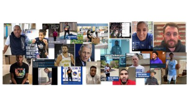"""NBA Together,"" a global community and social engagement campaign, supports, engages, educates and inspires communities in response to the pandemic."