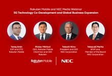 In a radical partnership between mobile operator & vendor, Rakuten Mobile & NEC Corp. are co-developing a completely new core architecture for 5G networks.