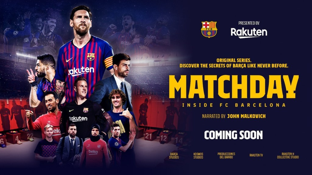 """Released in October 2019, """"Matchday – Inside FC Barcelona"""" is a documentary series that invites fans to take a never-before-seen look at the inner world of FC Barcelona."""