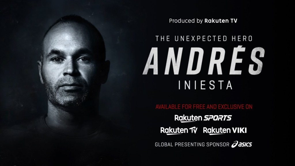 """""""The Unexpected Hero – Andrés Iniesta"""" documentary was one of many strong original films by Rakuten TV in 2020."""