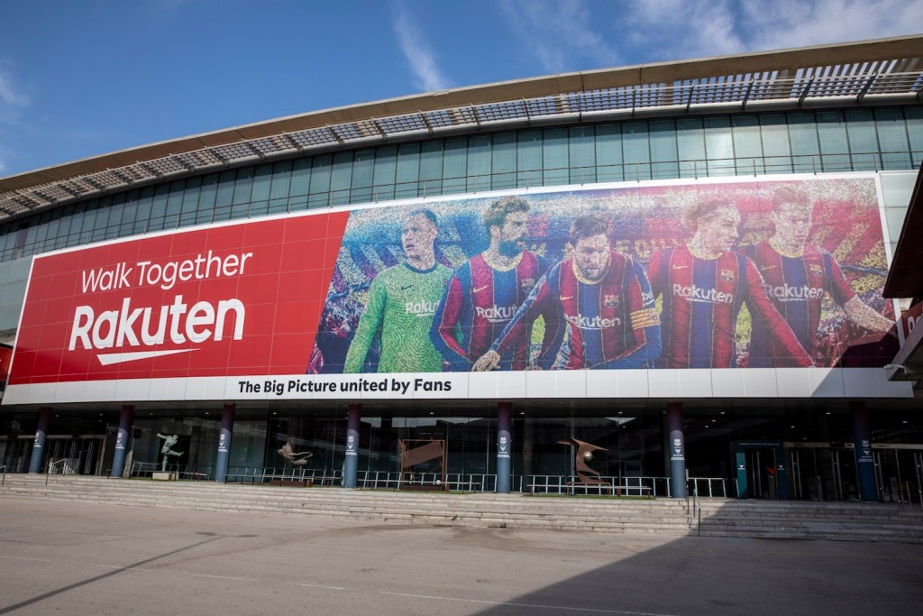 The Big Picture features 46,000 crowdsourced fan photos arranged into the image of five first team players.