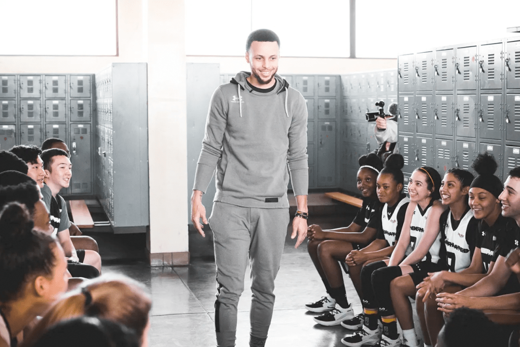 Golden State Warriors star Stephen Curry launched the Underrated Tour, powered by Rakuten, leveraging his experiences gained over a lifetime of exceeding expectations to help young, underdog athletes write their own tales of triumph against the odds.