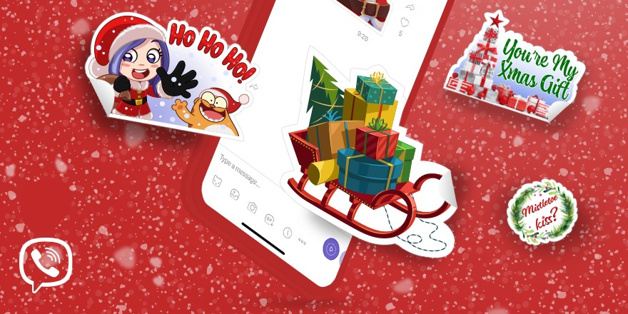 Viber was one of the first communication apps to introduce stickers, way back in 2013.