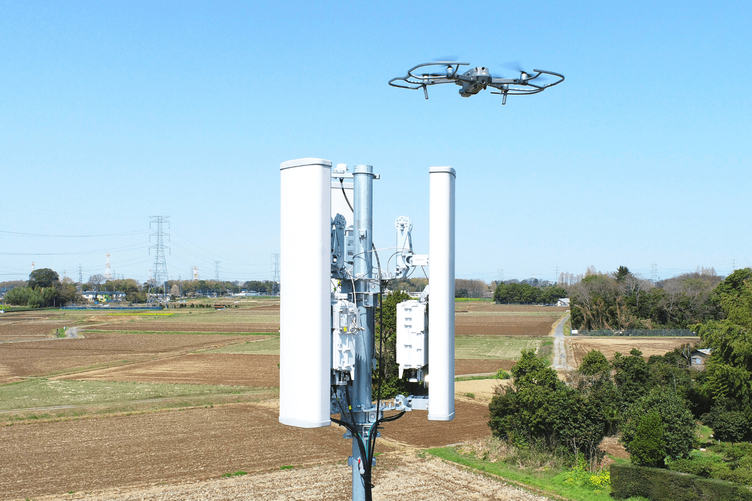 Rakuten Mobile deploys drones to help accelerate base station rollout