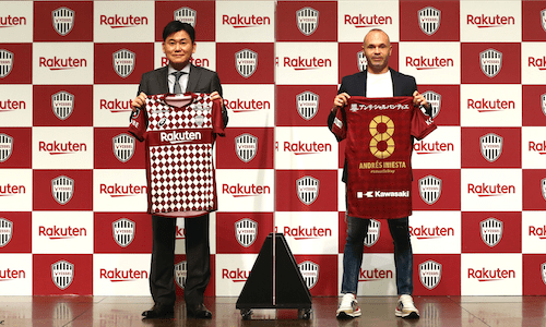 Soccer legend Andrés Iniesta extends contract with Vissel Kobe