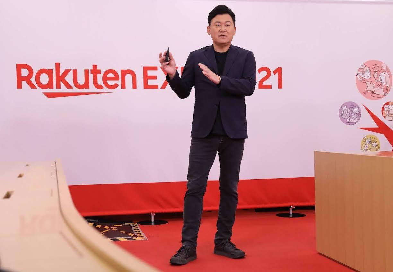 Rakuten Expo: Mickey Mikitani on the Rakuten Mobile Triangle Strategy