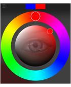 Procreate(プロクリエイト)のカラークリップの使い方。明度と彩度を調整する。 | 今日のプチ感
