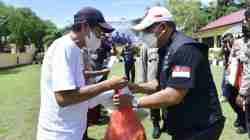 HDCI Makassar Touring Hingga ke Aceh Berbagi 1 Ton Beras