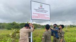 Kawasan Barombong Dipasangi Plang, Plt Gubernur Sulsel: Atas Pendampingan Korgah KPK
