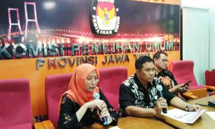 KPU Jawa Timur Pastikan Distribusikan 20 Juta