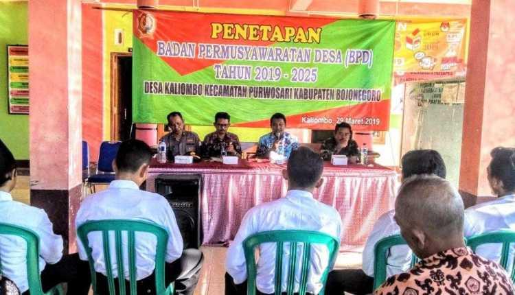 Musdes Penetapan BPD Periode 2019 2025