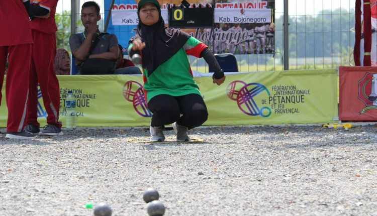 Atlet Petanque Bojonegoro Sukses Penuhi Target Emas