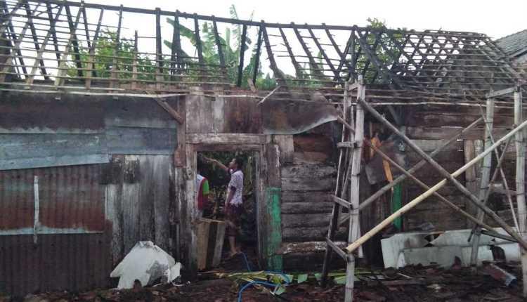 Musibah Kebakaran Rumah di Purwoasri, Sukosewu