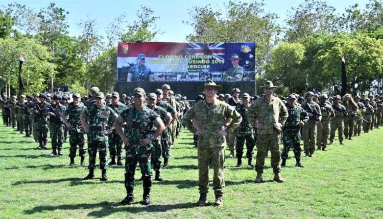 KASAD Indonesia dan Australia Saksikan Puncak
