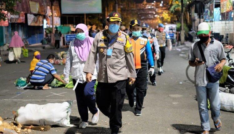 Kapolres Bojonegoro Pimpin Pengamanan Rapid Test