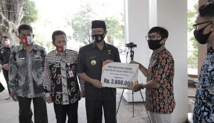 73 Pelaku UMK di Tuban, Terima Bantuan