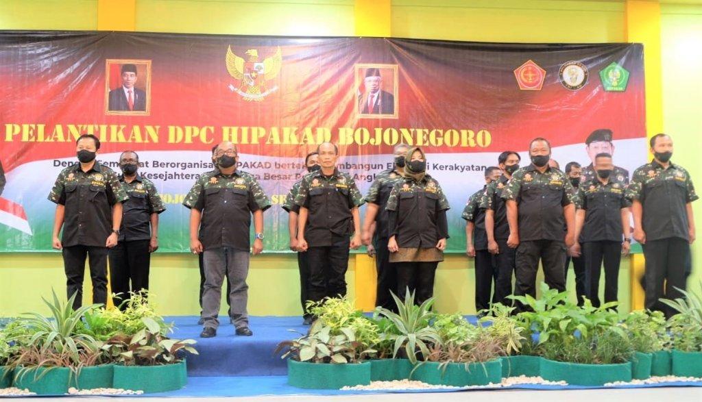 Arief Januarso Resmi Dilantik Sebagai Ketua DPC HIPAKAD Bojonegoro 1