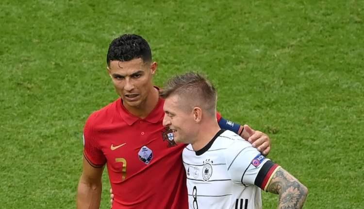 Kroos Beberkan Isi Percakapannya dengan Ronaldo Usai Laga Jerman Lawan Portugal