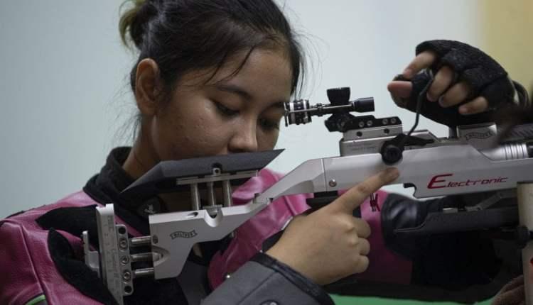 Vidya Rafika, satu-satunya petembak Indonesia di Olimpiade Tokyo
