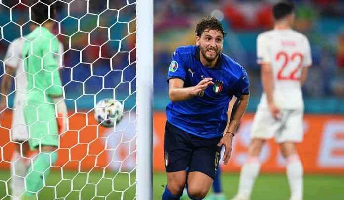 Manuel Locatelli Bicarakan Gosip Transfernya ke Juventus Usai Kemenangan Italia