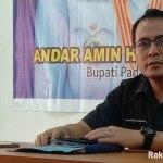 Juru bicara Tim GTPP Kabupaten Paluta Lairar Rusdi Nasution. Foto: Rakyatsumut.com/ Rifai Dalimunthe