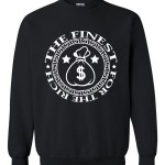 rakz black money bag classic