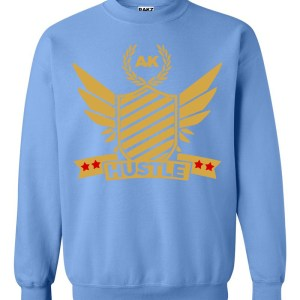 rakz carolina blue hustle crew neck