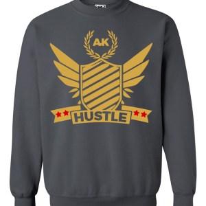 rakz charcoal hustle crew neck